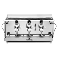 Espressor profesional Vibiemme Lollo Semiautomatica, 3 grupuri