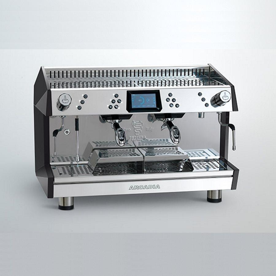 Espressor profesional Bezzera Arcadia DE 360 Brewing, 2 grupuri