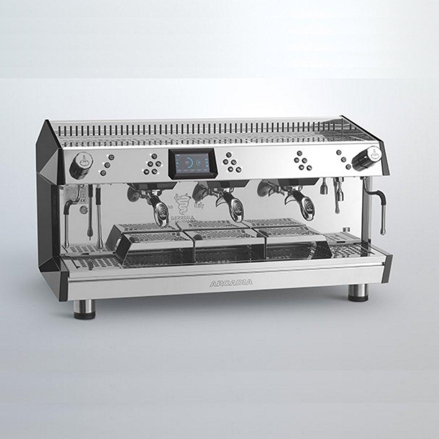 Espressor profesional Bezzera Arcadia DE 360 Brewing, 3 grupuri