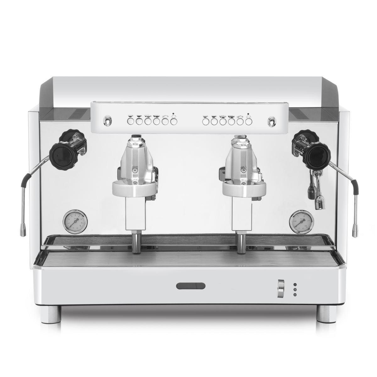 Espressor profesional Vibiemme Replica 2B Elettronica, 2 grupuri