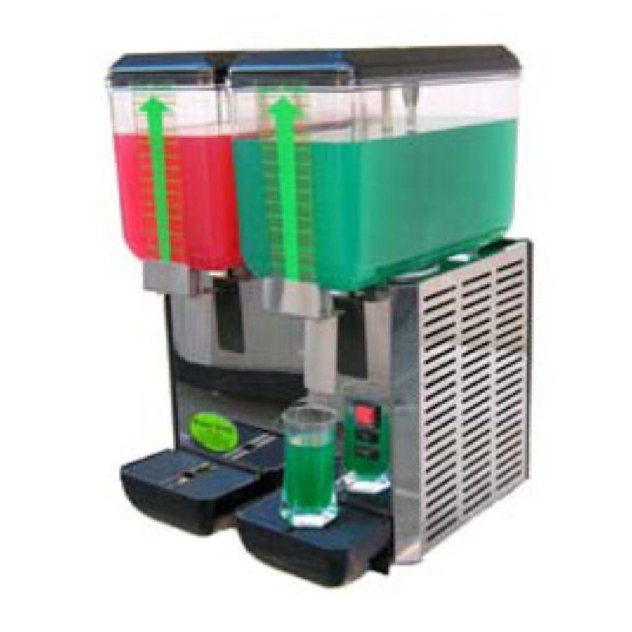 Dozator Elcor 14 Litri pentru băuturi reci, 2 rezervoare