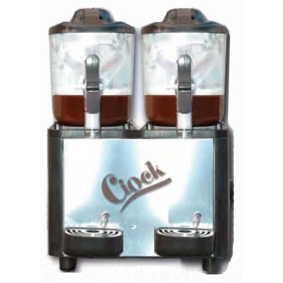 Maşină ciocolată caldă Elcor, 2 rezervoare, PID