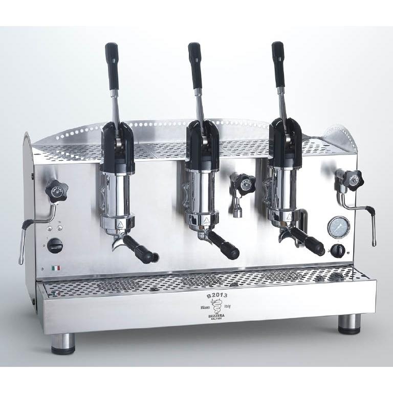 Espressor profesional Bezzera B2013 AL, 3 grupuri