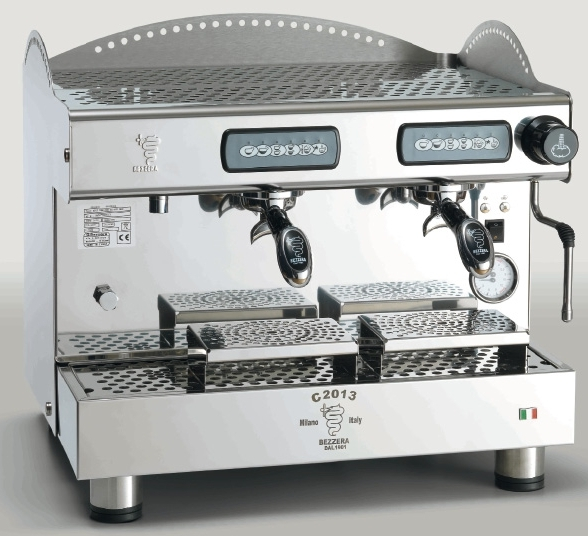 Espressor profesional Bezzera C2013 COMPACT DE, 2 grupuri
