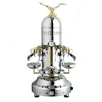 Espressor profesional Bezzera EAGLE PM Cromat, 2 grupuri