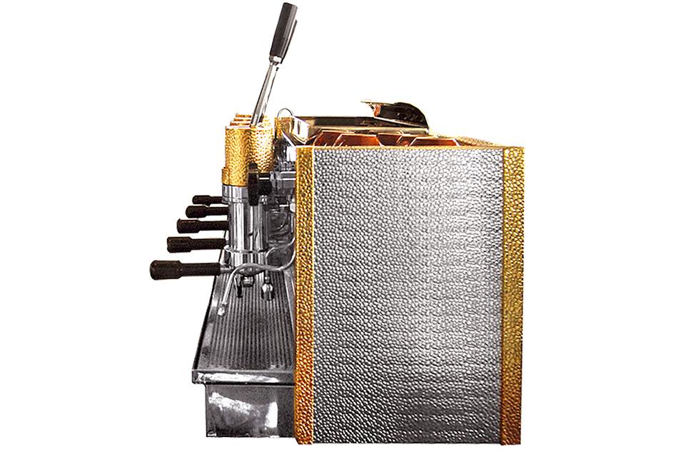 Espressor profesional cu pârghie Bosco Posillipo, 4 grupuri