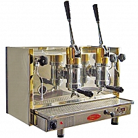 Espressor profesional cu pârghie Bosco Posillipo, 2 grupuri