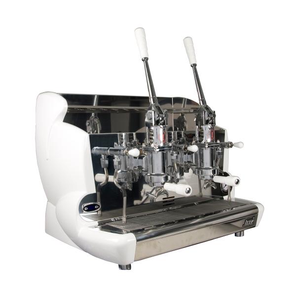 Espressor profesional cu pârghie Izzo, 2 grupuri