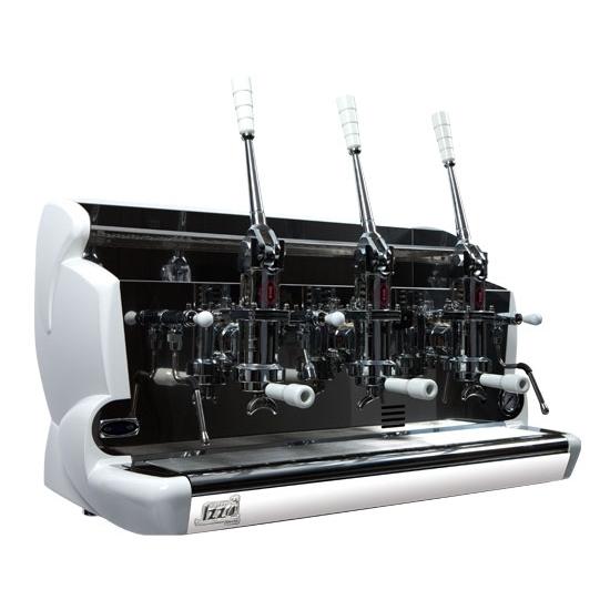 Espressor profesional cu pârghie Izzo, 3 grupuri