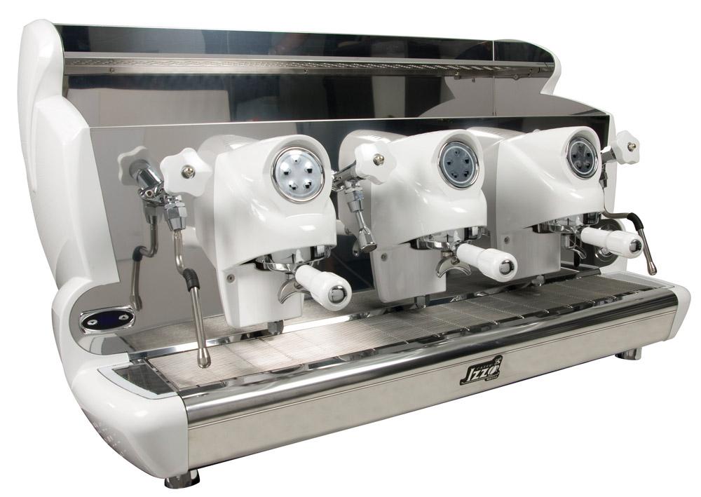 Espressor profesional Izzo MyWay Sorrento cu pârghie, 4 grupuri, control PID