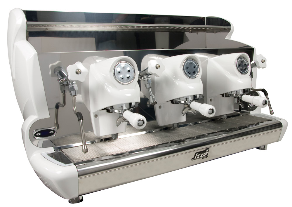 Espressor profesional Izzo MyWay Sorrento automat, 3 grupuri, control PID