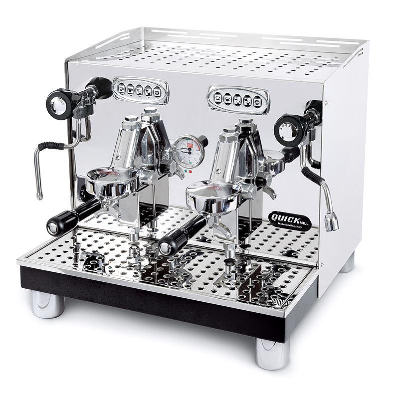 Espressor profesional automat Quick Mill Uragano Compact MOD.0998 DE, 2 grupuri