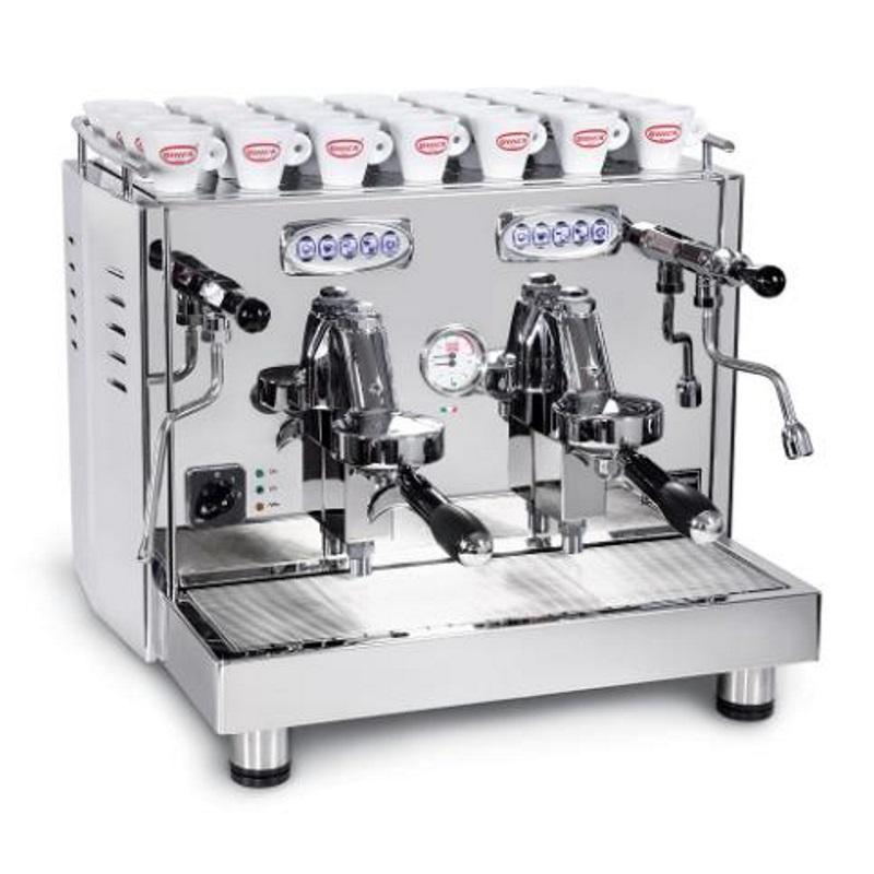 Espressor profesional automat Quick Mill Uragano Compact MOD.0998 DE NEW, 2 grupuri